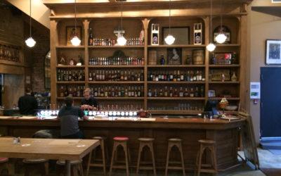 Armoires/étagères pour le Pub St-Alexandre