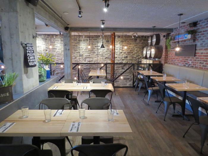 tables de restaurant menuiserie dubois. Black Bedroom Furniture Sets. Home Design Ideas